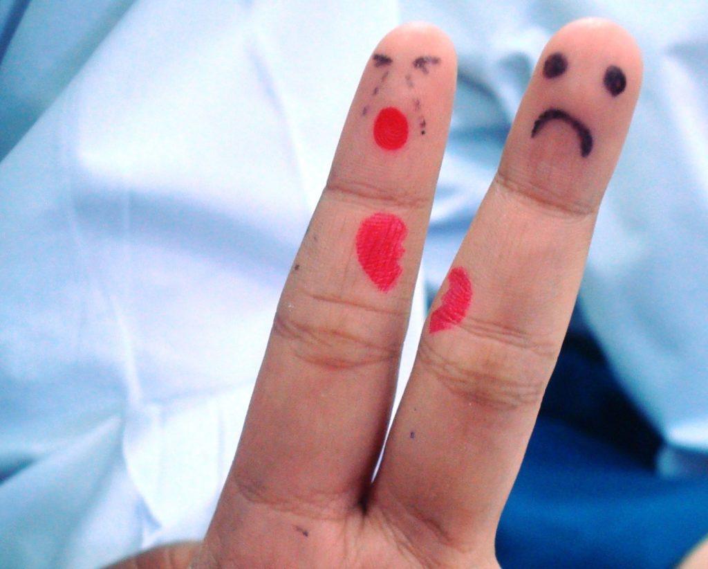 Comment réagir après une rupture amoureuse