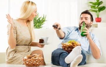 couple en crise séparation