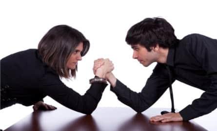 rapport de force dans le couple