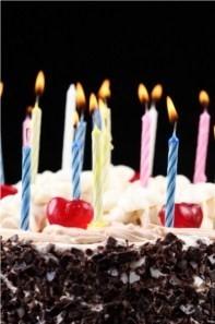dire bon anniversaire à un ex