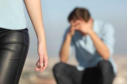 au bord de la rupture amoureuse