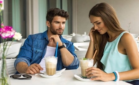 how to use body language to flirt