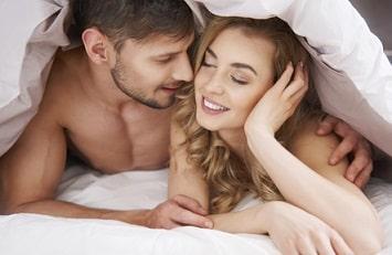 au lit avec son ex