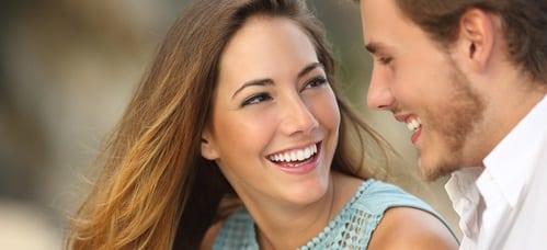 couple qui retrouve le bonheur