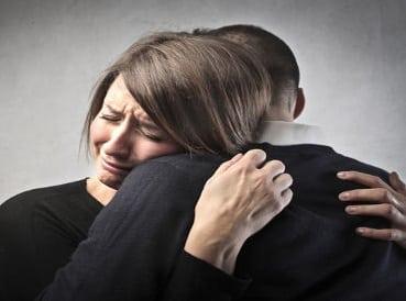 pleurs après une rupture
