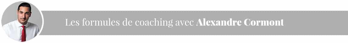 Alexandre Cormont coaching