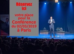 Conference à Paris d'Alexandre Cormont