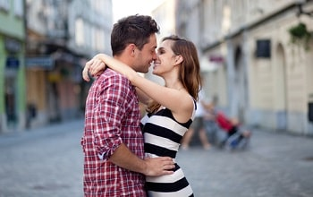 le début d'une relation amoureuse