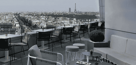 Rooftop hôtel Melià